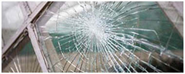 Ferndown Smashed Glass